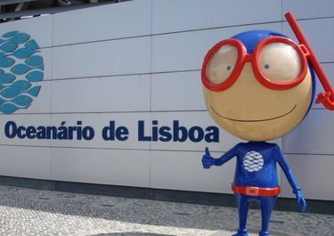 Vasco - mascotte Ocenario de Lisboa